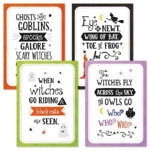 Halloween Verse Cards