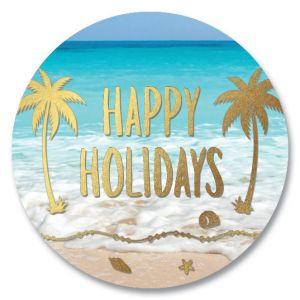 Holiday Palms Seals