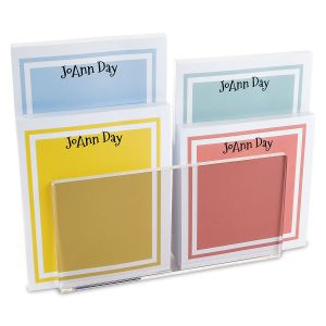 Color Trend Personalized Notepad Set