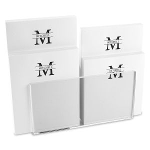 Front & Center Personalized Notepad Set