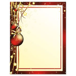 Christmas Celebration Christmas Letter Papers