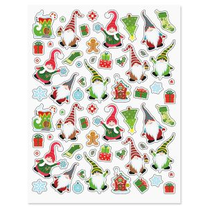 Christmas Gnome Stickers - BOGO