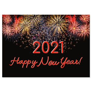 2021 Happy New Years Card