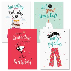 Crazy Time Birthday Cards