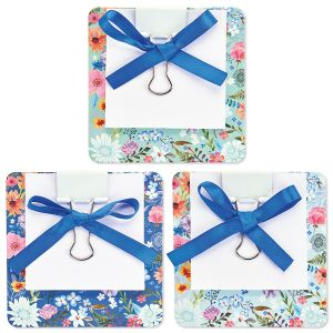 Daisy Wreath Coaster Notes - BOGO