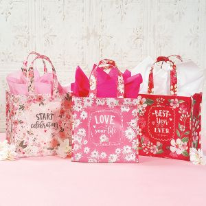 Pink & Red Totes - BOGO