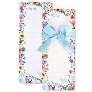 Daisy Border List Pads with Ribbon - BOGO