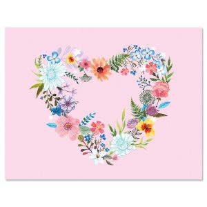 Daisy Wreath Note Cards- BOGO