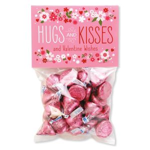 Hugs & Kisses Treat Bags and Toppers