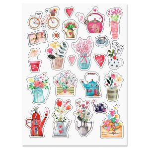Tiny Bouquets Stickers
