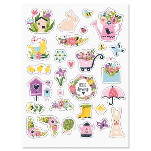 Spring Is Here Stickers