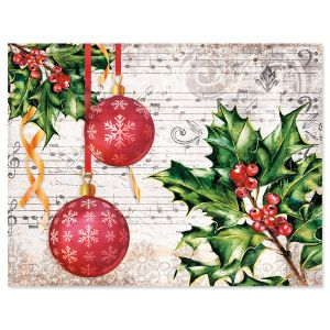 Music & Ornaments Note Card - BOGO