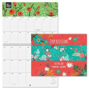 2022 Tiny Blossoms Big Grid Planning Calendar