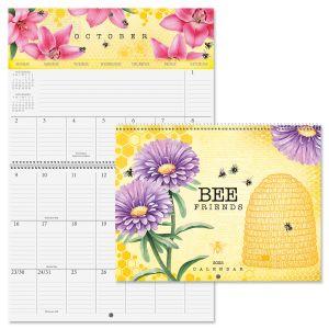2022 Bee Friends Big Grid Calendar