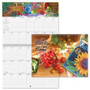 2022 All Hearts Come Home Big Grid Planning Calendar