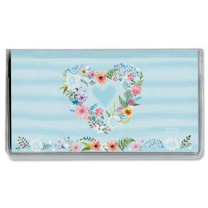 2022 Daisy Wreath Pocket Calendar
