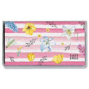 2022 Fresh Blossoms Pocket Calendar