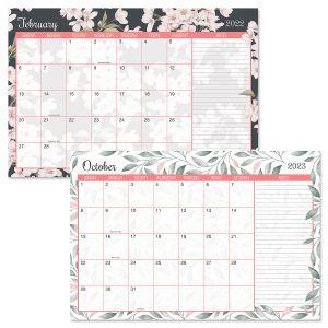 2022-2023 Coral & Charcoal Calendar Pad