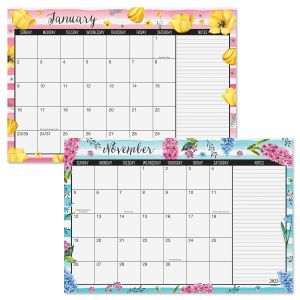 2022-2023 Fresh Blossoms Calendar Pad