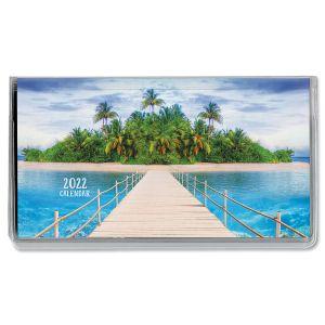 2022 Paradise Pocket Calendar