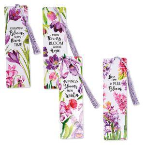 Spring Flowers Bookmarks - BOGO