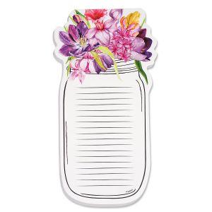 Spring Flower Mason Jar Note Pads - BOGO