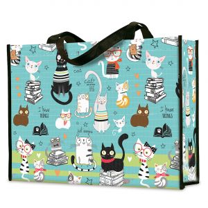 Smarty Cats Shopping Tote - BOGO