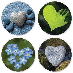 Natural Heart Seals (4 Designs)