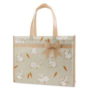 Garden Bunny Easter Shopping Tote - BOGO