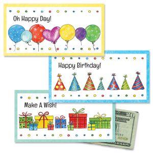 Birthday Money Cards