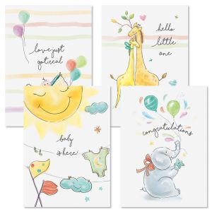 Little Miracle Baby Cards and Seals