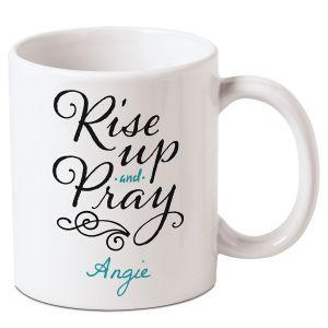 Rise Up Personalized Mug
