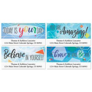 Encouragement Deluxe Address Labels (4 Designs)