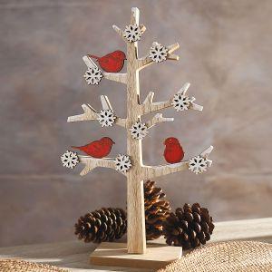 Cardinal Tree Decoration
