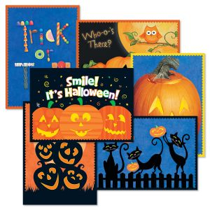 Halloween Brights Halloween Cards Value Pack