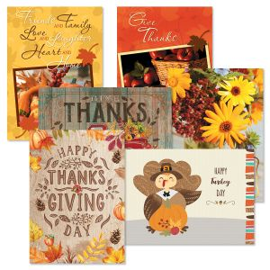 Thanksgiving Favorites Value Pack Thanksgiving Cards