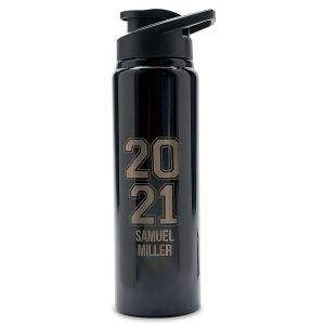 Graduation 2021 Personalized Fliptop Water Bottle