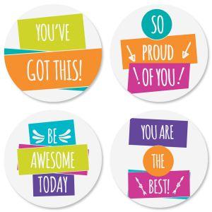 Encouragement Friendship Seals (4 Designs)