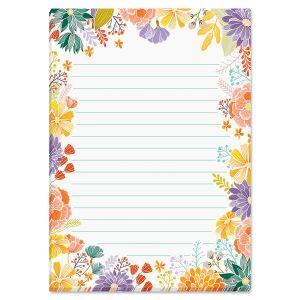 Wildflower Note Pad