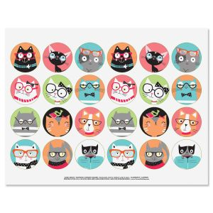Smarty Cats Stickers - BOGO