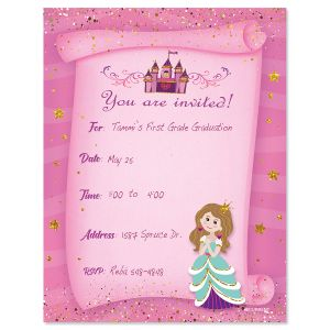 Princess Fill-in Invitation - BOGO