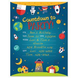 Countdown Fill-in Invitation - BOGO