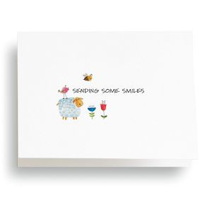 Thinking of You Smiles Note Cards