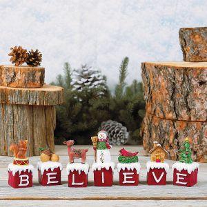 Christmas Believe Blocks