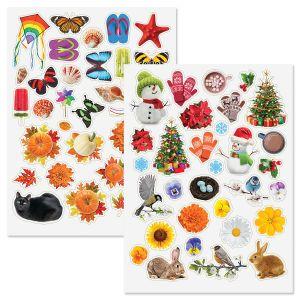 Four Seasons Stickers - BOGO