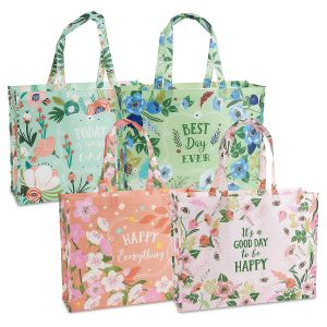 Floral Shopping Tote Value Pack
