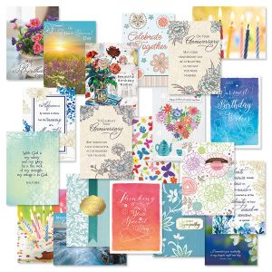 Faith All Occasion Cards with Seals Value Pack