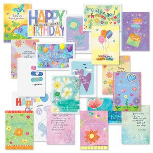 Pastel Wishes with Seals Cards Value Pack