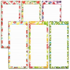 Fruit Magnetic Shopping List Pads