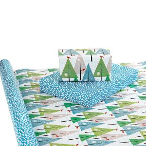 On A Winter's Day Double-Sided Jumbo Rolled Gift Wrap